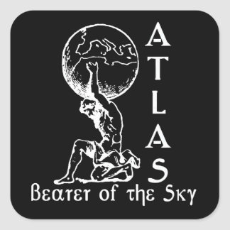 Atlas Square Sticker