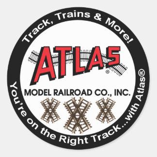 Atlas Sticker - Round