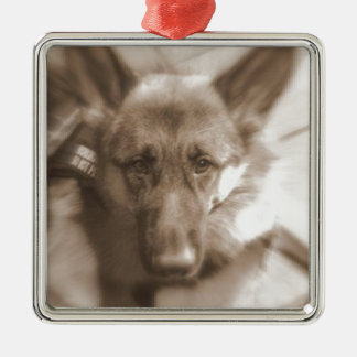 Atlas the Wonderdog Metal Ornament