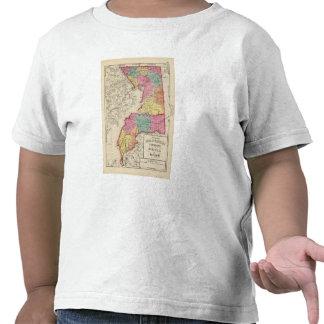 Atlas topográfico de los condados 2 de Maryland Camiseta