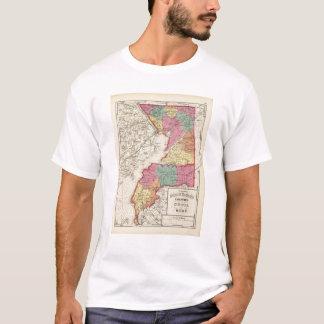 Atlas topográfico de los condados 2 de Maryland Playera