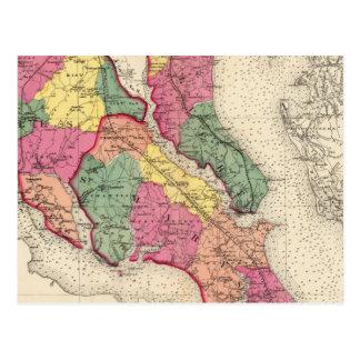 Atlas topográfico de los condados 6 de Maryland Postales