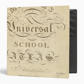 """atlas universal de la escuela carpeta 1 1/2"""""""