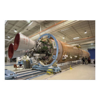Atlas V Rocket de la NASA Póster