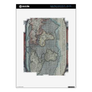 Atlas viejo iPad 3 pegatinas skins