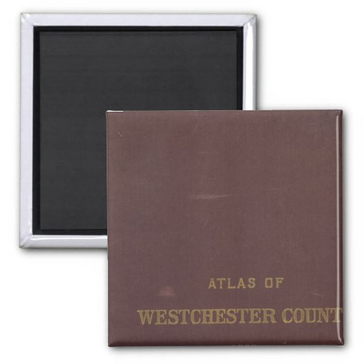 Atlas Westchester Co, NY Imán Cuadrado
