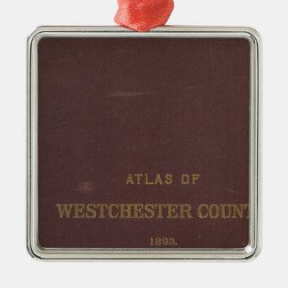 Atlas Westchester Co, NY Metal Ornament