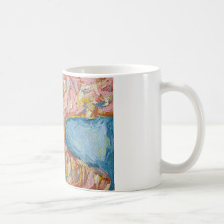 Atlas's Back and Shoulders(abstract expressionism) Coffee Mug