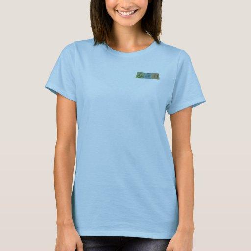 Atlatl-At-La-Tl-Astatine-Lanthanum-Thallium T-Shirt