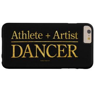 Atleta + Artista = bailarín Funda Para iPhone 6 Plus Barely There