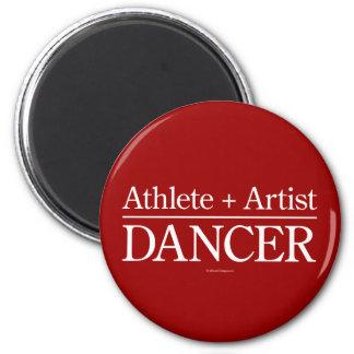 Atleta + Artista = bailarín Imán Redondo 5 Cm