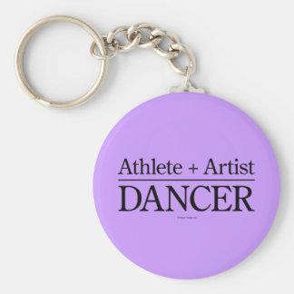 Atleta + Artista = bailarín Llaveros