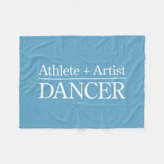 Atleta + Artista = bailarín Manta De Forro Polar