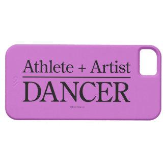 Atleta + Caso del iPhone 5 del artista = del iPhone 5 Carcasa