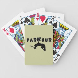 Atleta de Parkour Cartas De Juego