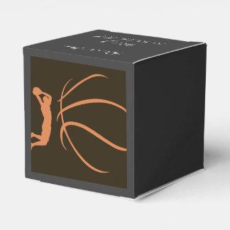 Atleta del baloncesto caja para regalos