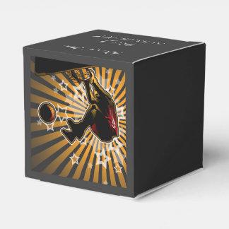 Atleta del baloncesto cajas para regalos