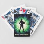 Atleta del chica; Fresco Baraja Cartas De Poker