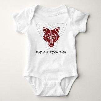 Atleta futuro del palillo de Ealdormerian Body Para Bebé