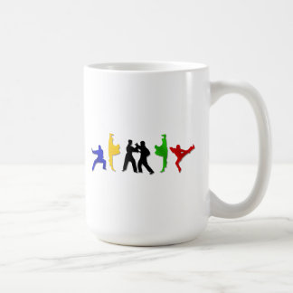 Atleta para hombre de los artes marciales del taza de café