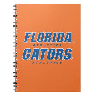 Atletismo de la Florida - azul y blanco Libro De Apuntes Con Espiral