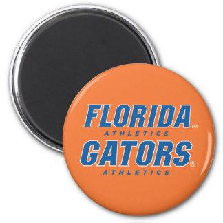 Atletismo de la Florida - azul y blanco Imanes