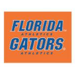 Atletismo de la Florida - azul y blanco Postales