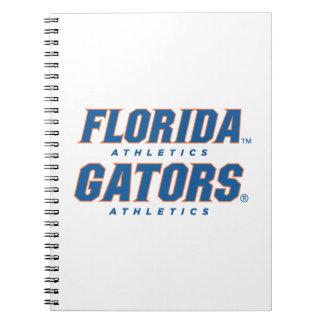 Atletismo de la Florida - azul y naranja Libros De Apuntes