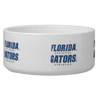 Atletismo de la Florida - azul y naranja Bol Para Perro