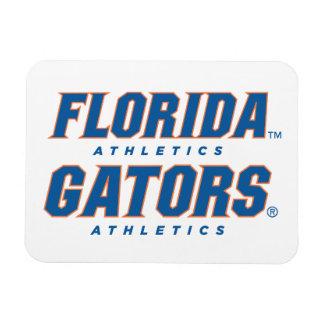 Atletismo de la Florida - azul y naranja Iman Flexible