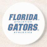 Atletismo de la Florida - azul y naranja Posavasos Para Bebidas