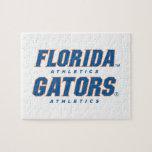 Atletismo de la Florida - azul y naranja Rompecabeza Con Fotos