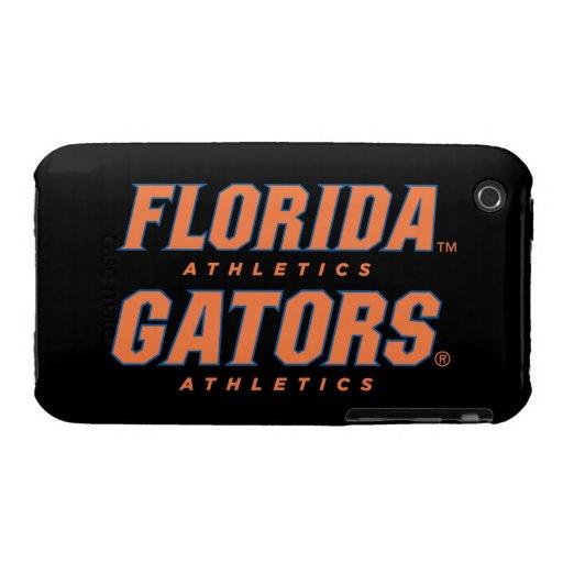 Atletismo de la Florida - naranja y azul iPhone 3 Case-Mate Fundas