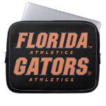 Atletismo de la Florida - naranja y azul Fundas Ordendadores