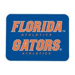Atletismo de la Florida - naranja y blanco Imanes