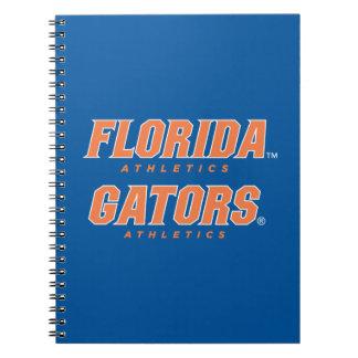 Atletismo de la Florida - naranja y blanco Libreta