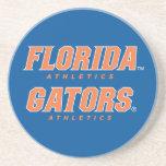 Atletismo de la Florida - naranja y blanco Posavasos Para Bebidas
