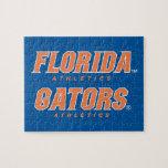Atletismo de la Florida - naranja y blanco Puzzles Con Fotos