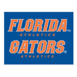 Atletismo de la Florida - naranja y blanco Tarjetas Postales