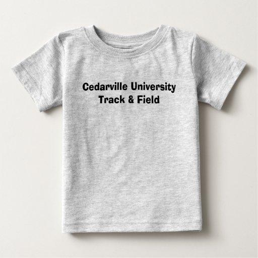 Atletismo de la universidad de Cedarville Camisas