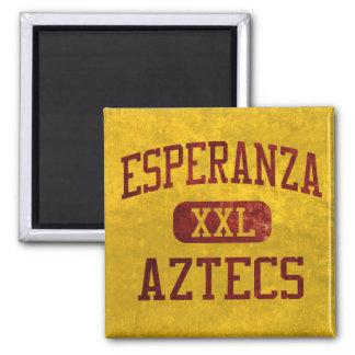 Atletismo de los Aztecas de Esperanza Imán Cuadrado
