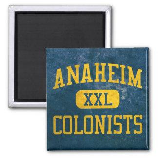 Atletismo de los colonos de Anaheim Imán Cuadrado
