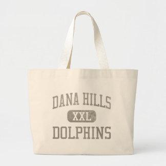Atletismo de los delfínes de las colinas de Dana Bolsa Tela Grande