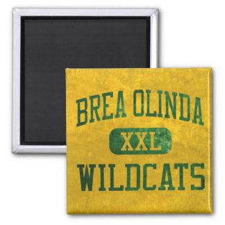 Atletismo de los gatos monteses de Brea Olinda Iman De Frigorífico