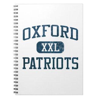 Atletismo de los patriotas de Oxford Cuadernos