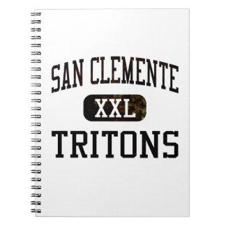 Atletismo de los tritones de San Clemente Cuadernos