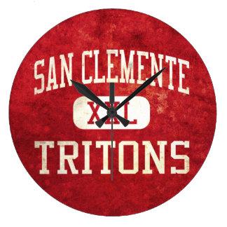 Atletismo de los tritones de San Clemente Reloj Redondo Grande