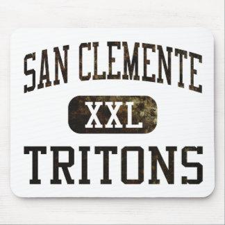 Atletismo de los tritones de San Clemente Alfombrillas De Ratón