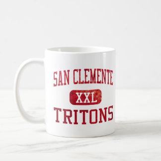 Atletismo de los tritones de San Clemente Taza De Café