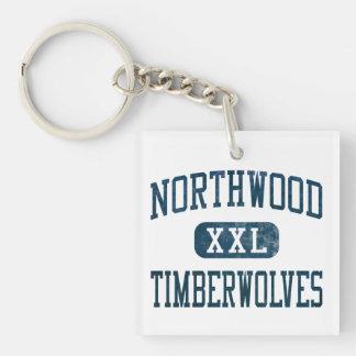 Atletismo de Northwood Timberwolves Llaveros